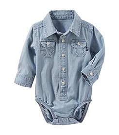 OshKosh B'Gosh® Baby Girls' Chambray Bodysuit