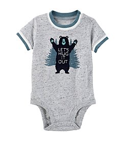 OshKosh B'Gosh® Baby Boys' Bear Hug Graphic Bodysuit