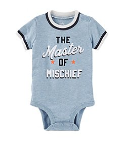 OshKosh B'Gosh® Baby Boys' Master Of Mischief Graphic Bodysuit