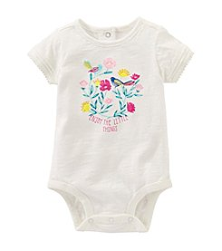 OshKosh B'Gosh® Baby Girls' Enjoy The Little Things Bodysuit