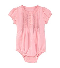 OshKosh B'Gosh® Baby Girls' Lace Pleated Bodysuit