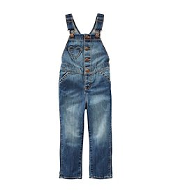 OshKosh B'Gosh® Baby Girls' Heart Pocket Denim Overalls