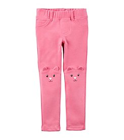 Carter's® Girls' 2T-8 Character French Terry Jeggings