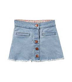 Carter's® Girls' 2T-8 Button Down Denim Skirt