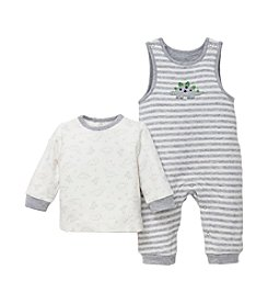 Little Me® Baby Boys' Dashing Dinos Overalls Set