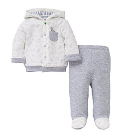 Little Me® Baby Boys 2 Piece Hoodie And Pants Set