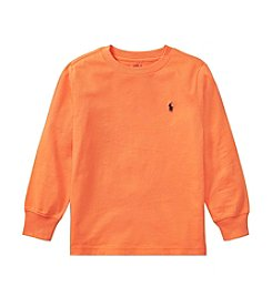 Polo Ralph Lauren® Boys' 2T-7 Long Sleeve Jersey Tee