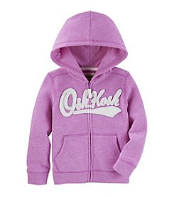 OshKosh B'Gosh® Girls' 2T-8 Long Sleeve Logo Hoodie