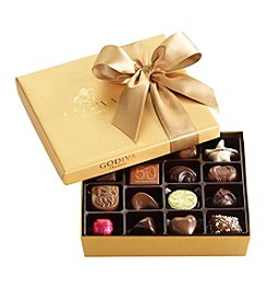 Godiva® Assorted Chocolate 19-Piece Gold Gift Box