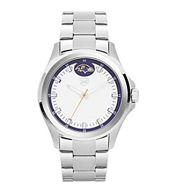 Jack Mason NFL® Baltimore Ravens Men's Silver Sport Watch