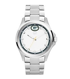 Jack Mason NFL® Green Bay Packers Men's Silver Sport Watch