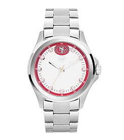 Jack Mason NFL® San Francisco 49ers Men's Silver Sport Watch