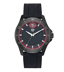 Jack Mason NFL® San Francisco 49ers Men's Blackout Silicone Watch
