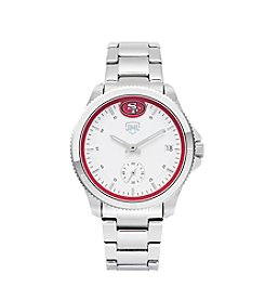 Jack Mason NFL® San Francisco 49ers Women's Silver Sport Watch