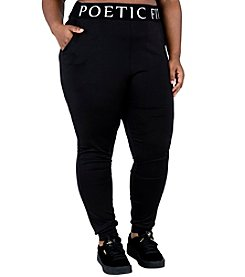 Poetic Justice® Plus Size Lex Pocket Jogger Pants