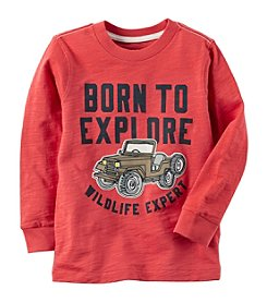 Carter's® Boys' 2T-8 Born To Explore Graphic Tee