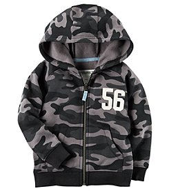 Carter's Boys' 2T-5 Fleece Zip Front Hoodie