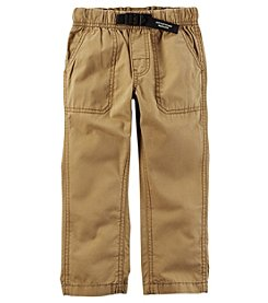 Carter's Boys' 2T-5 Buckled Poplin Utility Pants