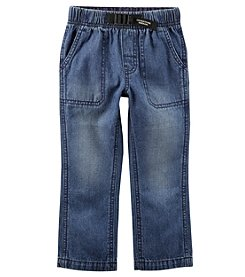 Carter's Boys' 2T-4T Buckled Denim Pants