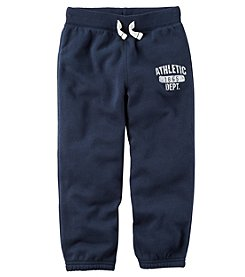 Carter's Boys' 2T-8 Brushed Fleece Joggers