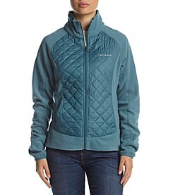 Columbia Warmer Days™ Full Zip Quilted Bodice Jacket