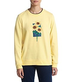 Breckenridge® Petites' Sunflowers Fleece
