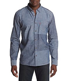 Levi's Men's Patches Print Chambray Shirt