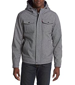 Levi's® Hooded Softshell Trucker Jacket