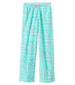 Calvin Klein Girls' 5-16 Logo Fleece Pants