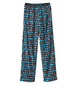 Calvin Klein Boys' 5-16 Logo Fleece Pants