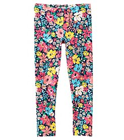 Carter's Girls' 12M-8 Floral Leggings