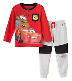 Disney® Boys 2T-7 Long Sleeve Lightning McQueen Cars Set