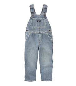 OshKosh B'Gosh® Boys' 2T-4T Engine Washed Striped Overalls