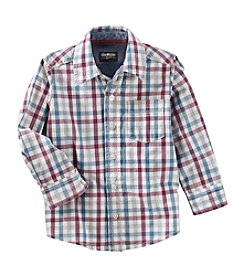 OshKosh B'Gosh® Boys' 2T-7 Long Sleeve Woven Shirt