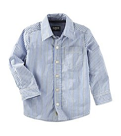 OshKosh B'Gosh® Boys' 2T-8 Long Sleeve Woven Shirt