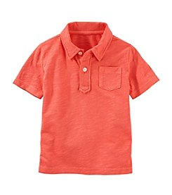 OshKosh B'Gosh® Boys' 4-7 Short Sleeve Front Pocket Polo Shirt