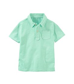 OshKosh B'Gosh&Reg; Boys' 6-7 Short Sleeve Front Pocket Polo Shirt