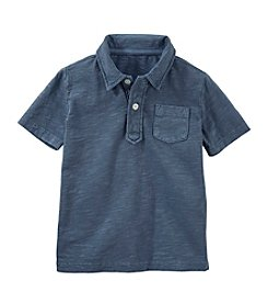 OshKosh B'Gosh&Reg; Boys' 4-7 Short Sleeve Front Pocket Polo Shirt