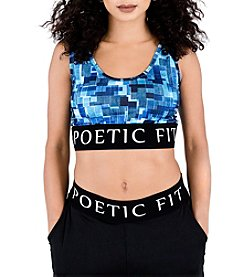 Poetic Justice® Ryan Fit Fashion Bra Top
