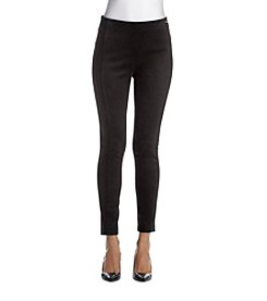 Ivanka Trump® Suede Compression Pants