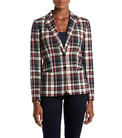 Tommy Hilfiger® Plaid Blazer