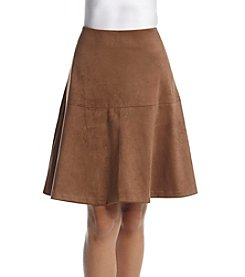 Tommy Hilfiger® Faux Suede Skirt