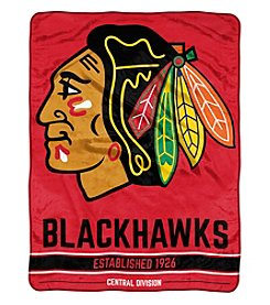 Northwest Company NHL® Chicago Blackhawks Breakaway Micro Raschel Throw