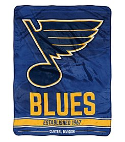 Northwest Company NHL® St. Louis Blues Breakaway Micro Raschel Throw