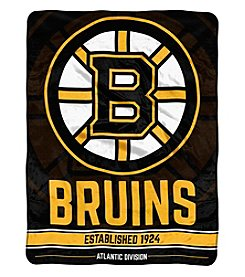 Northwest Company NHL® Boston Bruins Breakaway Micro Raschel Throw