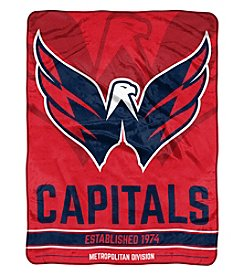 Northwest Company NHL® Washington Capitals Breakaway Micro Raschel Throw