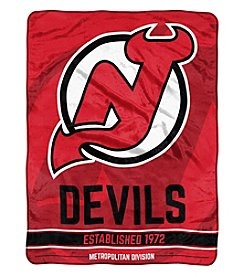 Northwest Company NHL® New Jersey Devils Breakaway Micro Raschel Throw