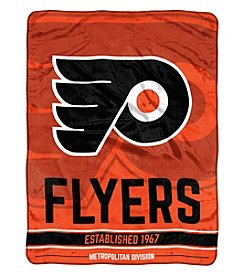Northwest Company NHL® Philadelphia Flyers Breakaway Micro Raschel Throw