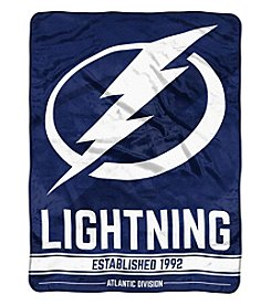Northwest Company NHL® Tampa Bay Lightning Breakaway Micro Raschel Throw