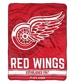 Northwest Company NHL® Detroit Red Wings Breakaway Micro Raschel Throw